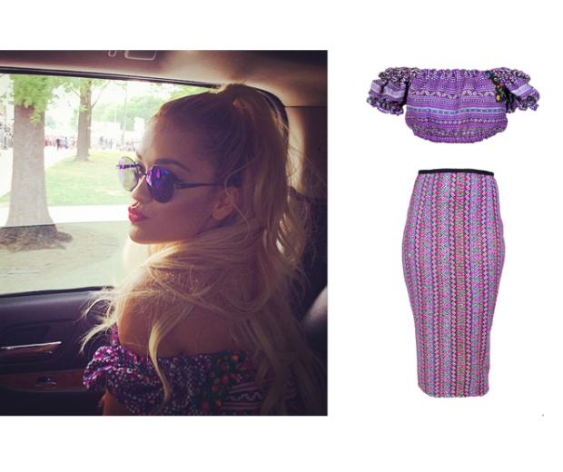 Get Rita Ora's cool boho look from Mochi