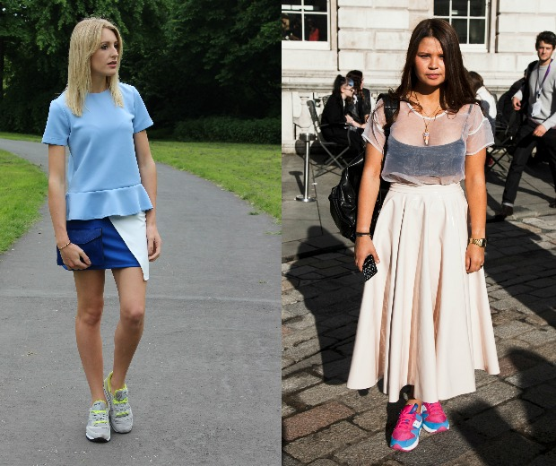 It's all about Saucony tainers this summer – the street style set can't get enough of these colourful kicks