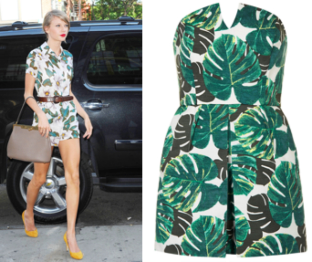 Get The Look: Taylor Swift\'s \'50s-Style Playsuit Perfection   Look