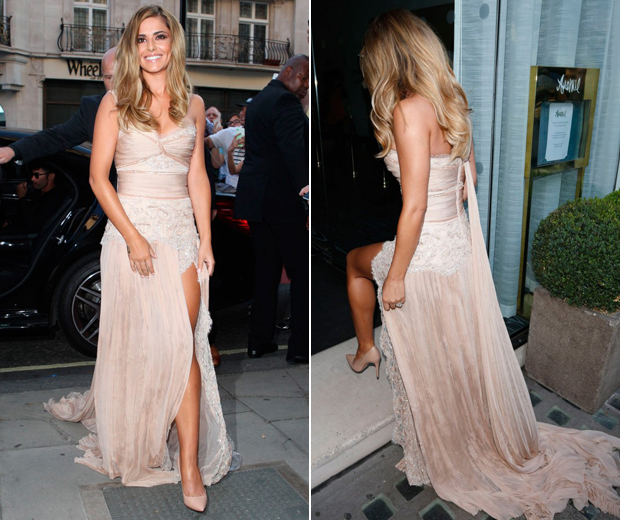 Cheryl Cole Gets Nostalgic For Her Wedding Dress...   Look