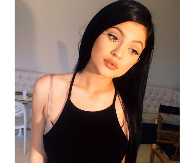 Kylie Jenner Embraces The World Of Hair Extensions Look