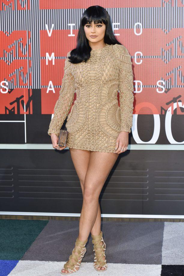 Kylie Jenner Rocks Balmain At The MTV Video Music Awards, 2015