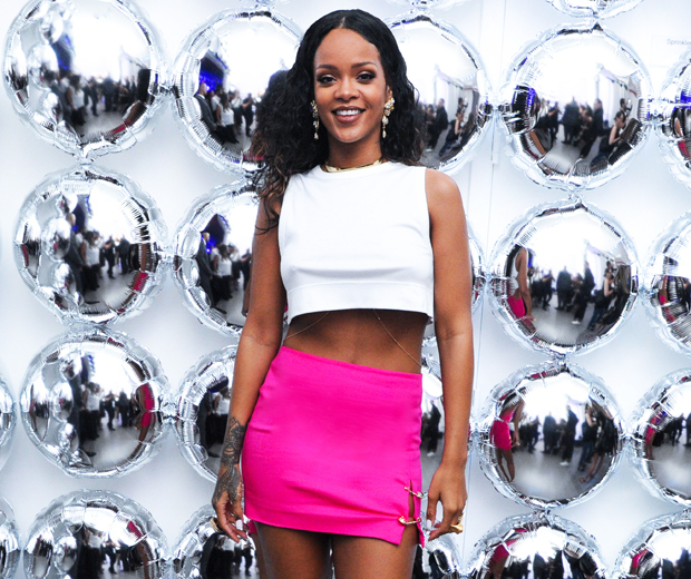 Thought RiRi's flawless skin and toned bod was all down to good genes? Think again.