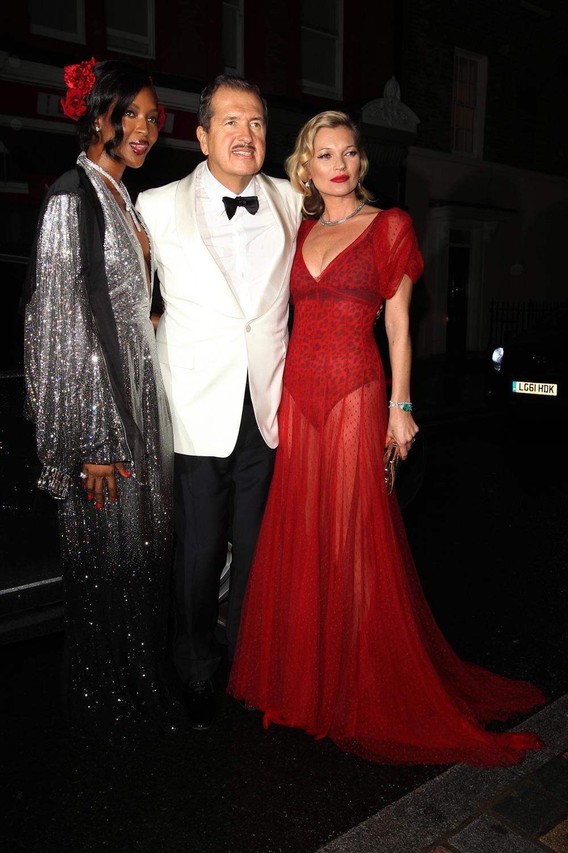Mario Testino's Star Studded 60th Birthday: See All The Pics