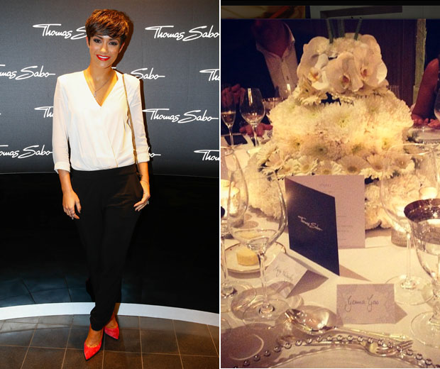 LOOK hit the Thomas Sabo store launch with Frankie Sandford