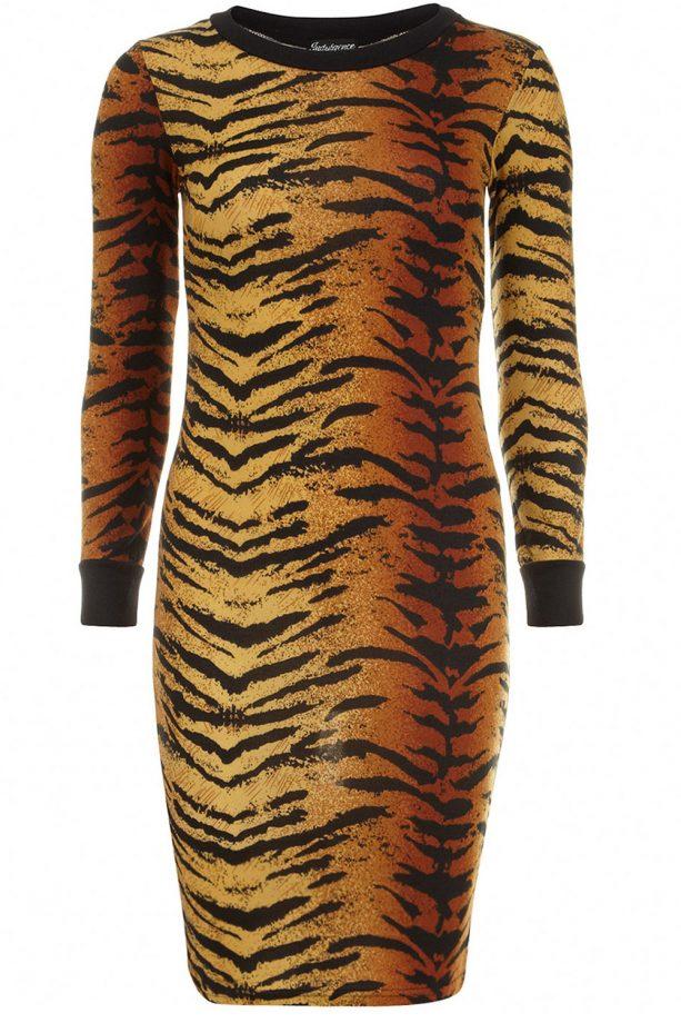 Dorothy Perkins Leopard Print Midi Dress, £18