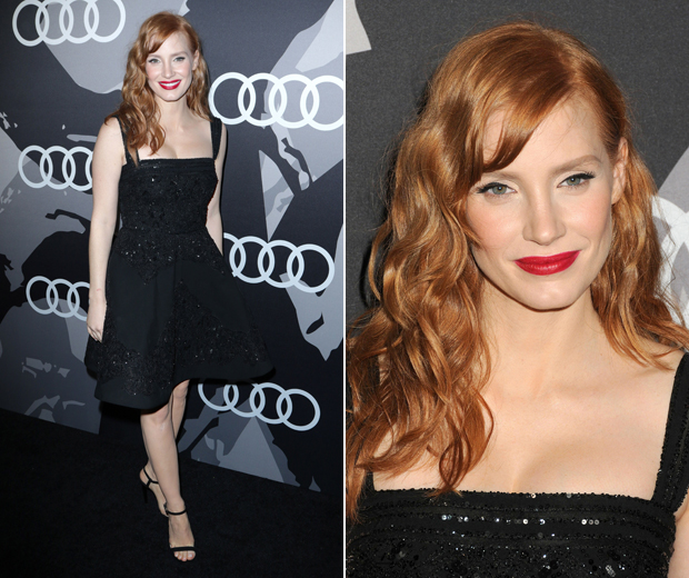 Jessica Chastain scooped our best dressed award thanks to her Elie Saab frock