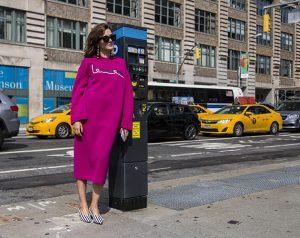 Street Style, Spring Summer 2017, New York Fashion Week, USA - 11 Sep 2016