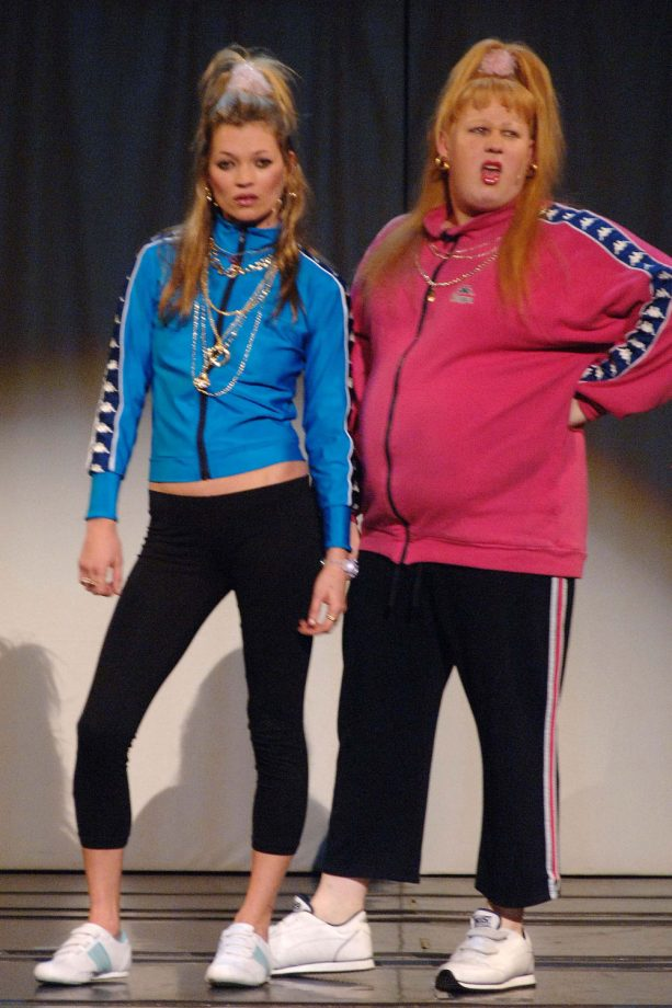 Kate Moss Makes A Cameo As The Sister Of Vicky Pollard In A Special Comic Relief Performance Of 'The Little Britain Stage Show', 2007
