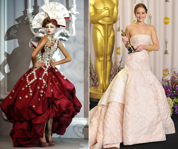 From Runway Couture to Jennifer Lawrence's Oscar Tumble; Dior's Best Moments...