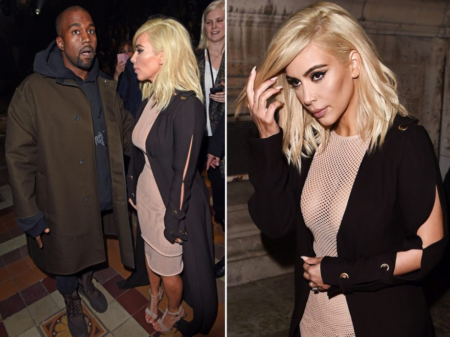 Kim Kardashian has spoken out about her new platinum hair for the first time