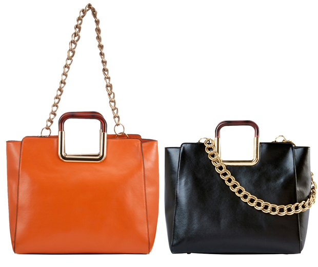 Luxe Details Like Square Handles And Chain Straps Make These Bags A Bargain At 30 Matalan