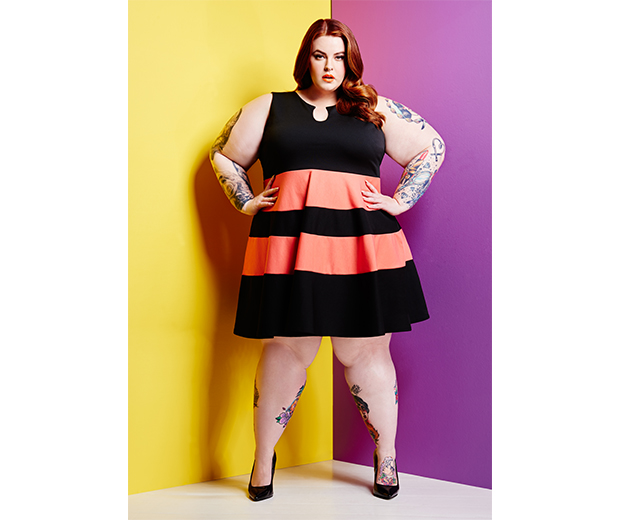 Plus Size Model Tess Holliday Is The Face Of Yours Clothing