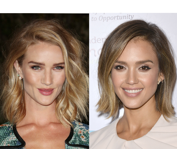 Balayage looks amazing on short hair- Rosie and Jessica do it justice!