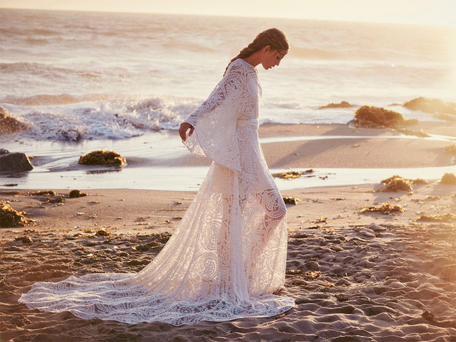 Just one of the stunning dresses from the new Free People bridal range