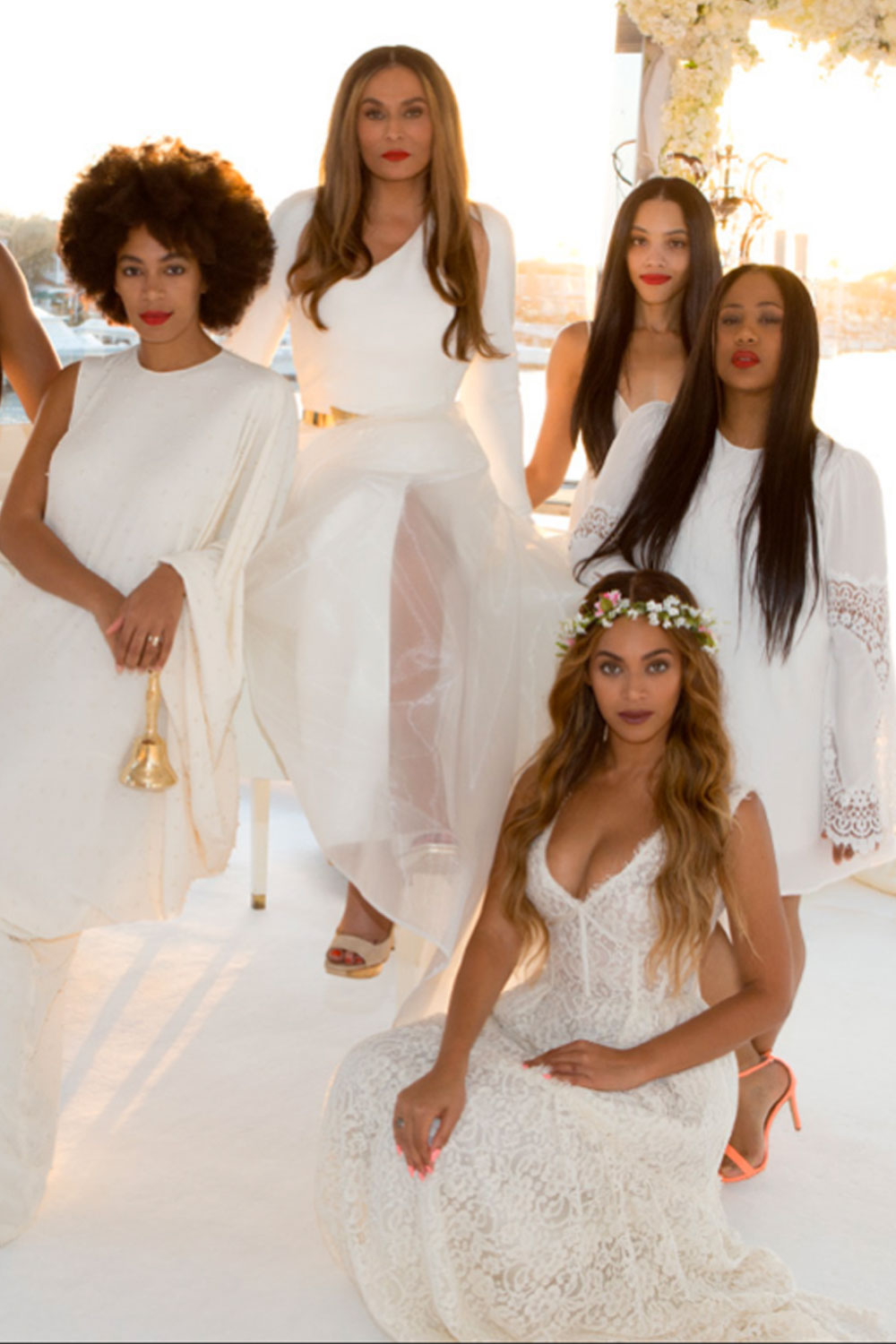 Celebrity bridesmaid dresses you have to see look ombrellifo Image collections