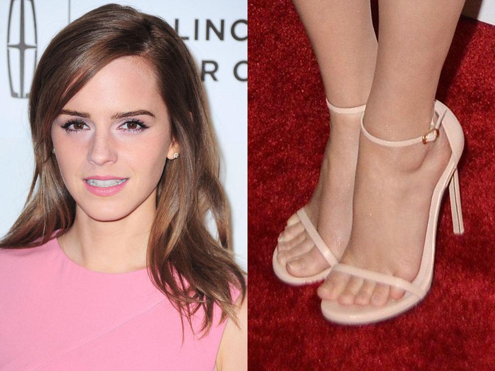 so emma watson officially has the world s prettiest feet look