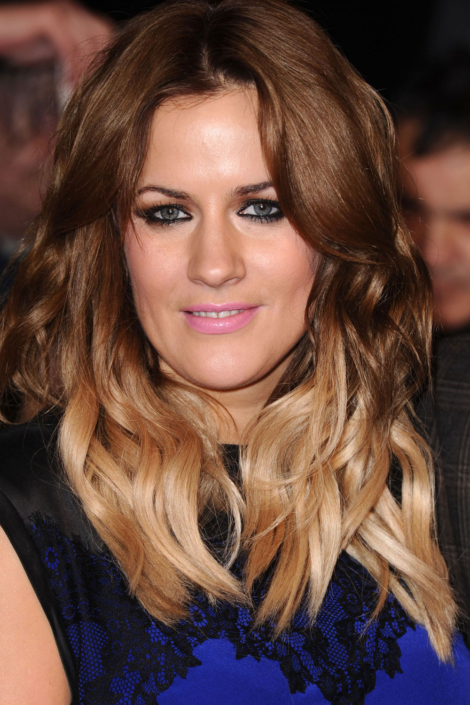 Caroline Flack Ombre Hair Www Pixshark Com Images
