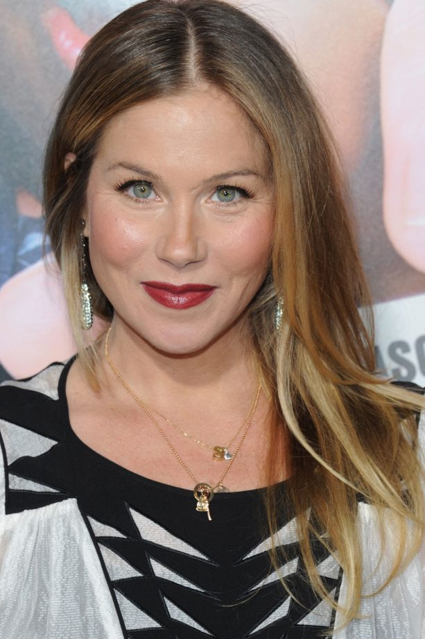 Ombre highlights on brown hair brown hairs christina applegate opts for subtle ombre highlights 2016 pmusecretfo Images