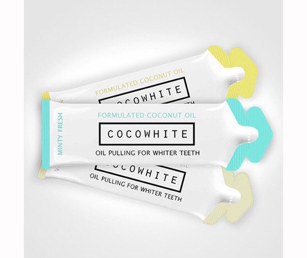Coco White sachets come in 14-day courses and cost £19.99