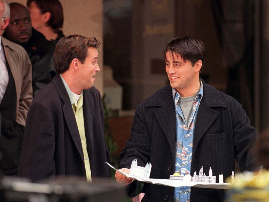 Chandler and Joey - BFFs in London