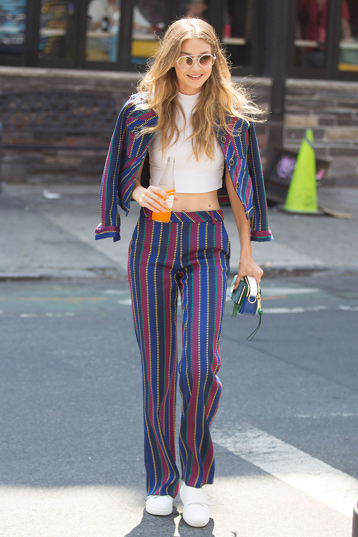 Gigi Hadid Fashion File Look