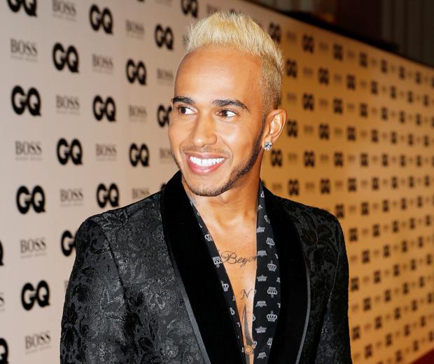 Lewis Hamilton Blonde