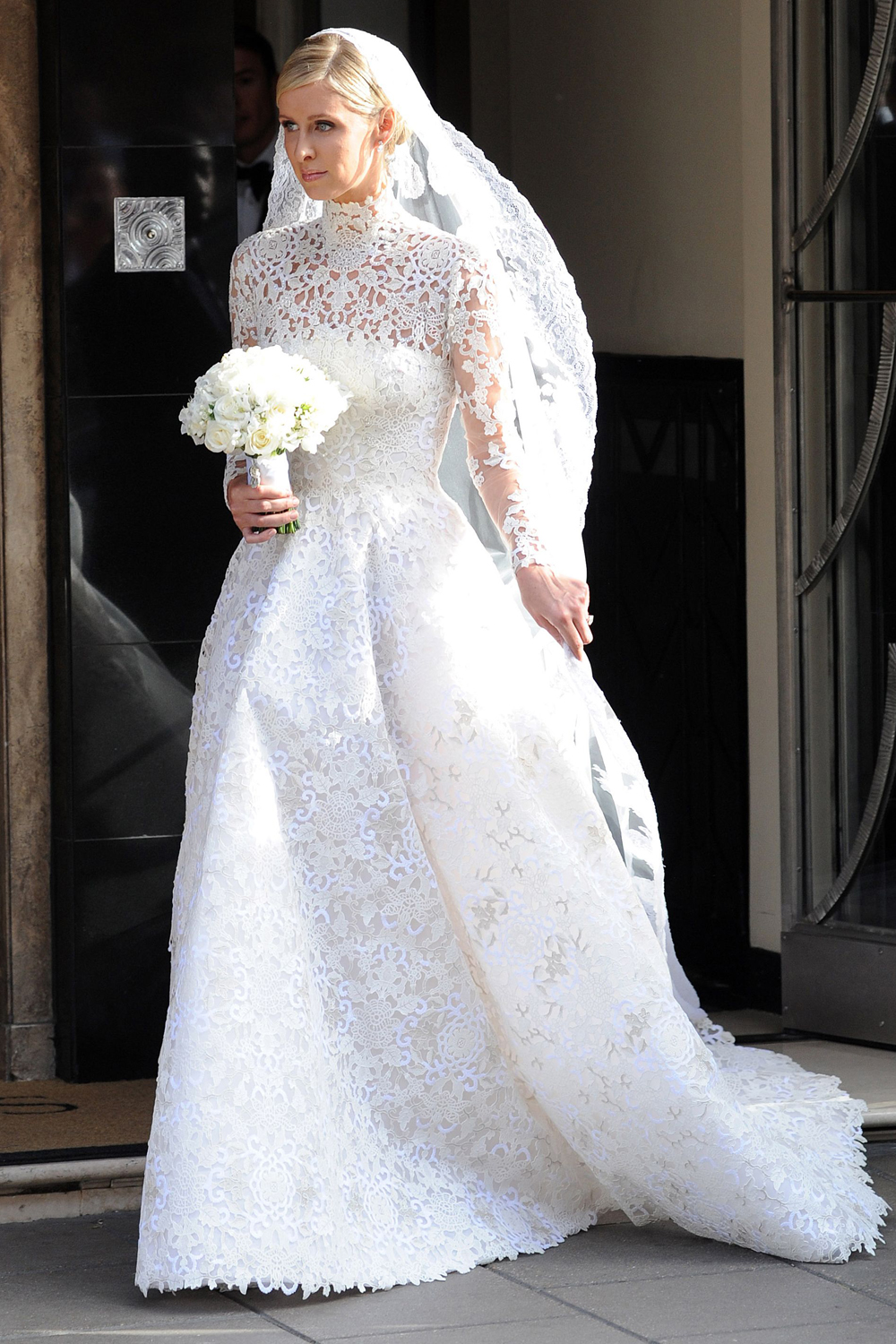 Valentino lace wedding dresses the for Giles deacon wedding dresses