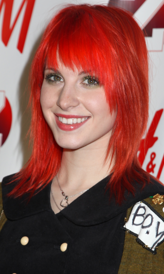 Red hair celebrity inspiration for a stand out shade look red hair hayley williams has always experimented with lots of different shades of red urmus Images
