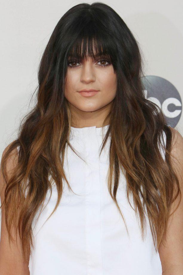 Kylie Jenners Colourful Hair Evolution Look