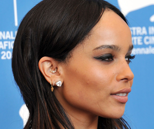 Zoe Kravitz Piercings: Can This Ear Piercing Stop You From Getting Headaches?
