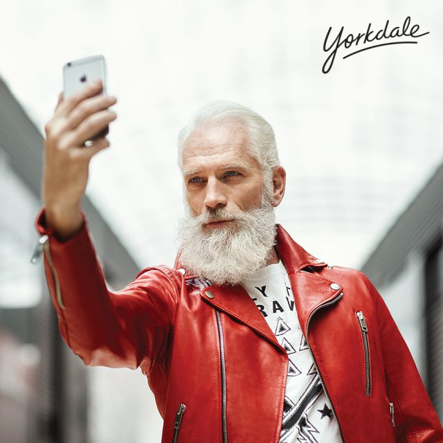 Fashion Santa Is Real, And Boy Is He Dapper