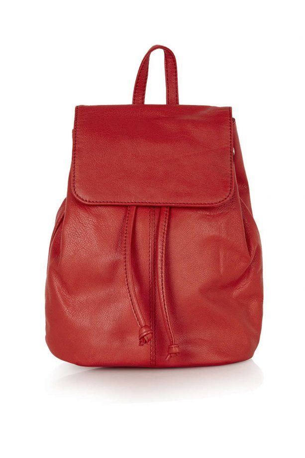 Topshop Mini Leather Backpack, £35