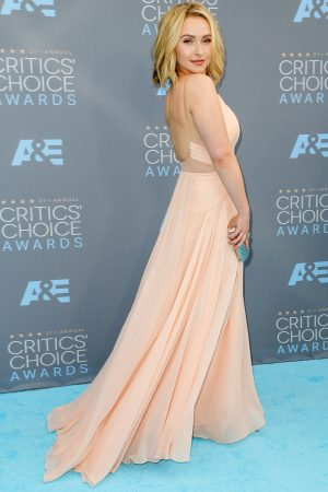 Hayden Panettiere Is A Bombshell In Maria Lucia Hohan At The Critics' Choice Awards, 2016