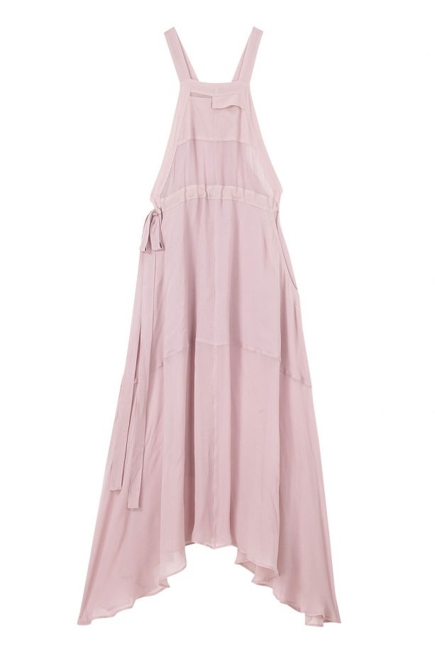 Pink Dungaree Maxi Dress, £50, ASOS