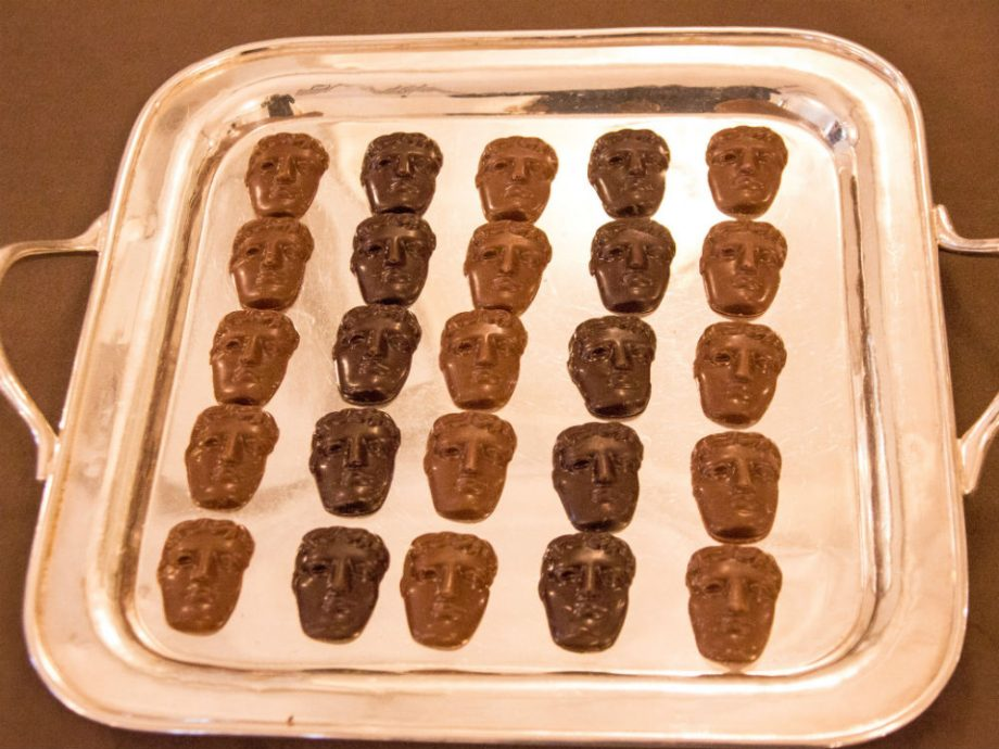 BAFTA Food: How cute are these chocolates?