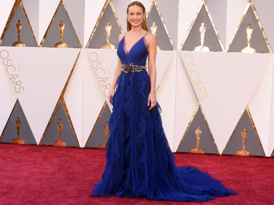 Brie Larson wowed on the Oscars red carpet