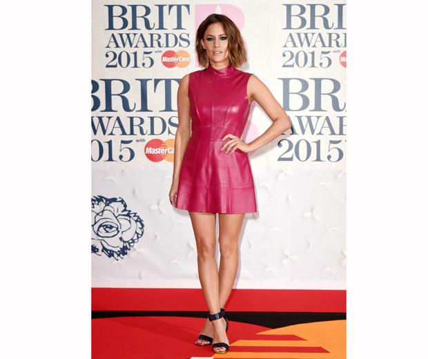 Caroline at the BRITs 2015 - *those* legs!