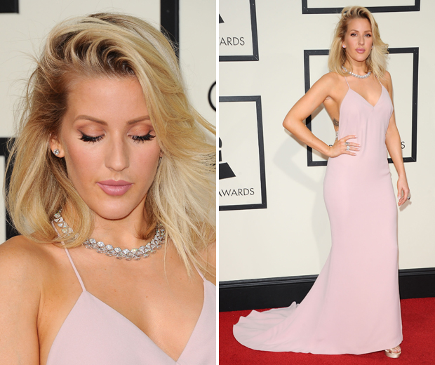 Ellie Goulding looked like a total princess in her 2016 Grammys outfit...