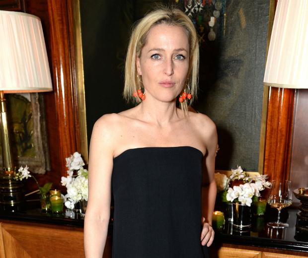 GIllian Anderson would like people to stop discussing her looks now...