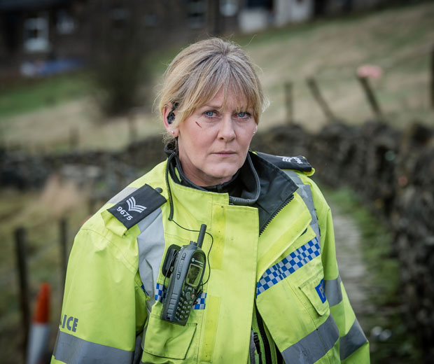Sarah Lancashire as police sergeant Catherine Cawood in Happy Valley