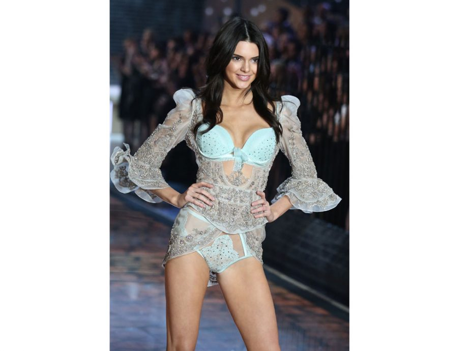 Kendall Jenner definitely didn't want Caitlyn at her first Victoria's Secret show