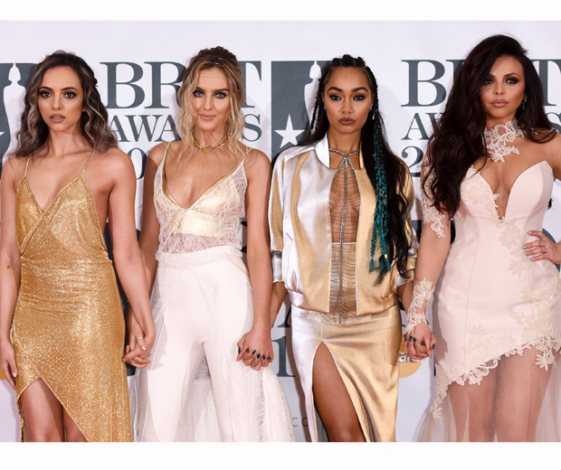 Little Mix at the 2016 BRIT Awards...