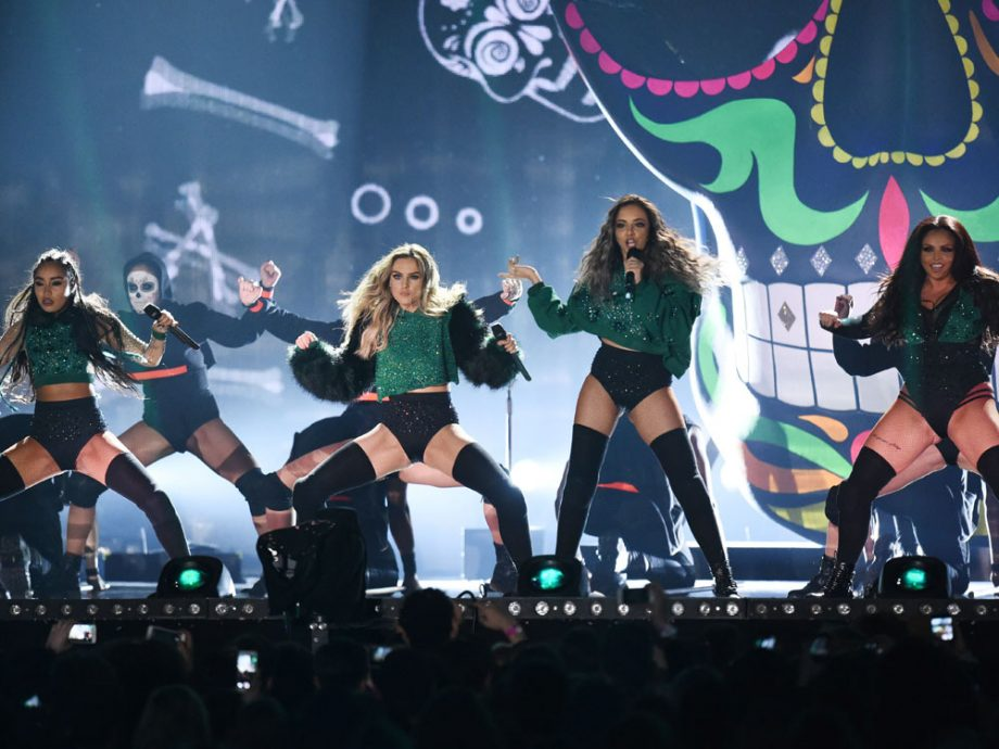 Little Mix wowed on stage at London's O2 Arena