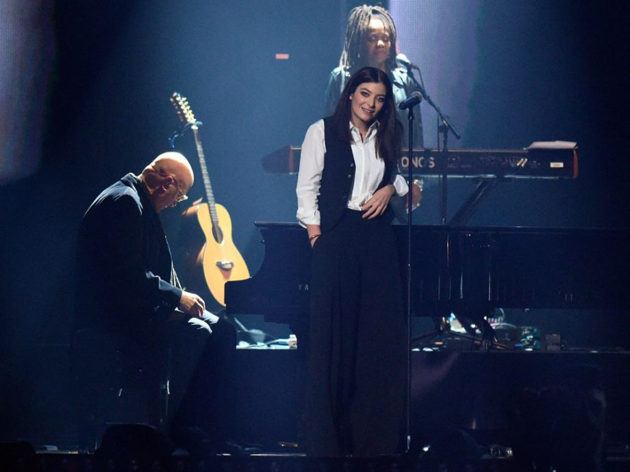 Lorde impressed David Bowie's son at the BRITs