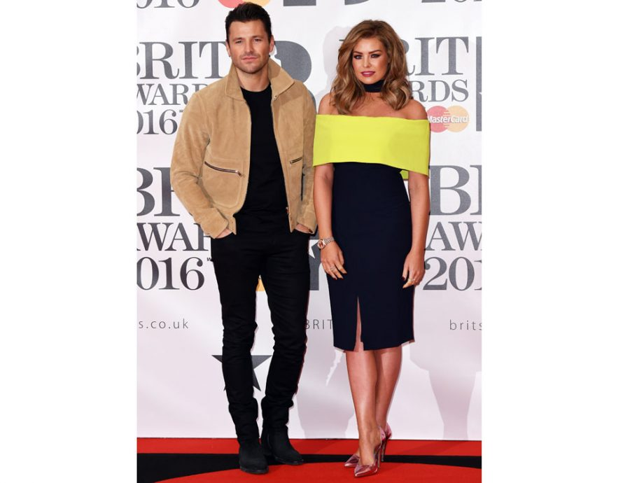 Mark Wright and Jess Wright show off their sibling style credentials on the red carpet