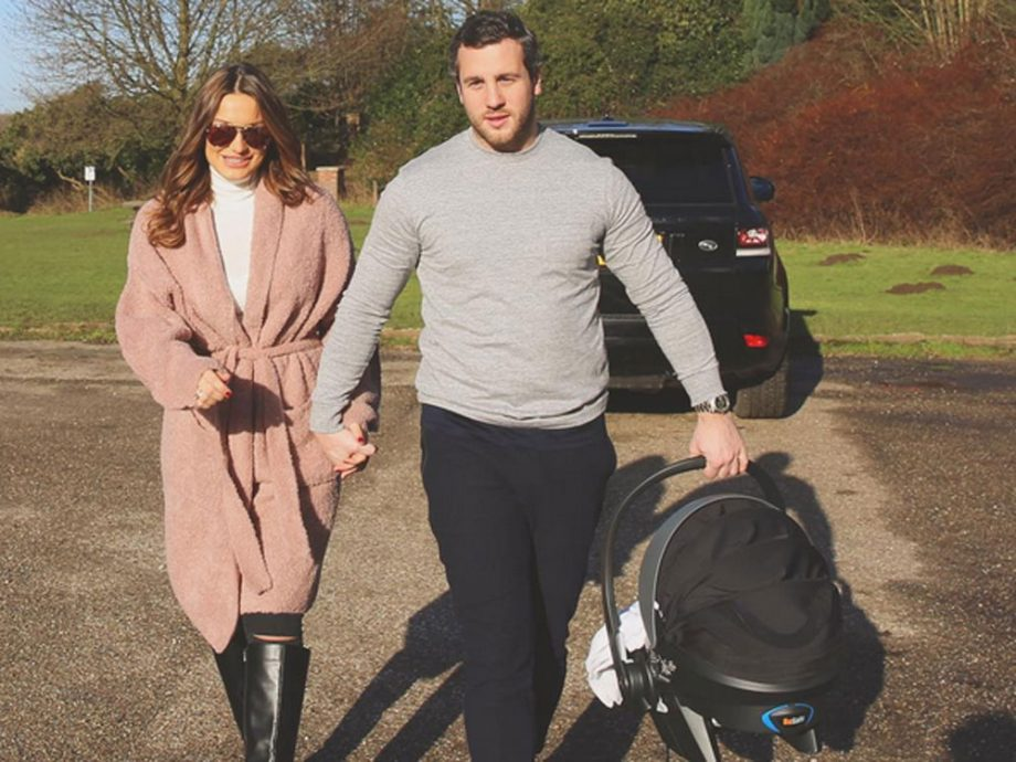 Sam Faiers and Paul Knightley welcomed baby Paul Tony in December
