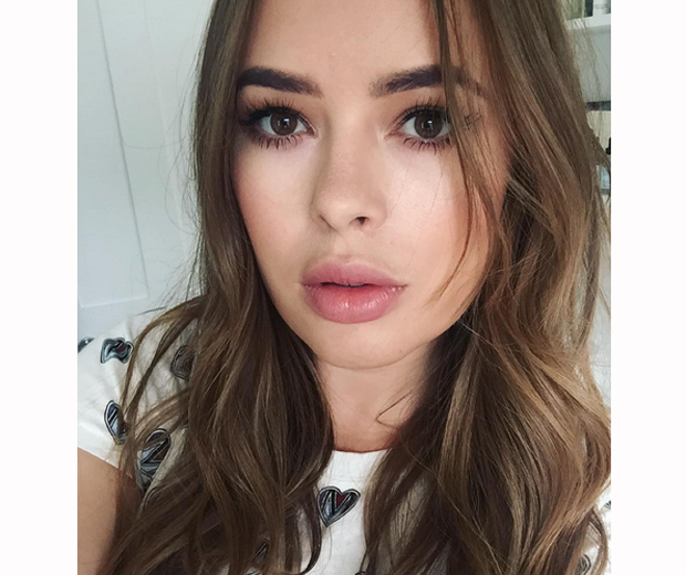 Vlogger Tanya Burr has come under fire for her latest Instagram pic