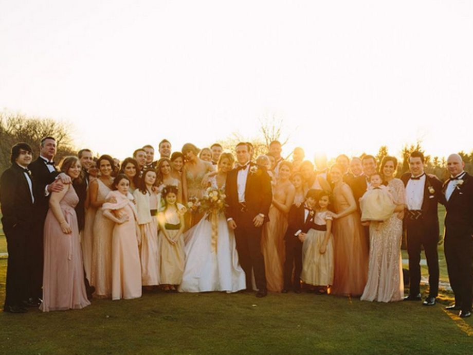 Taylor Swift played an important role at Brit Maack's wedding
