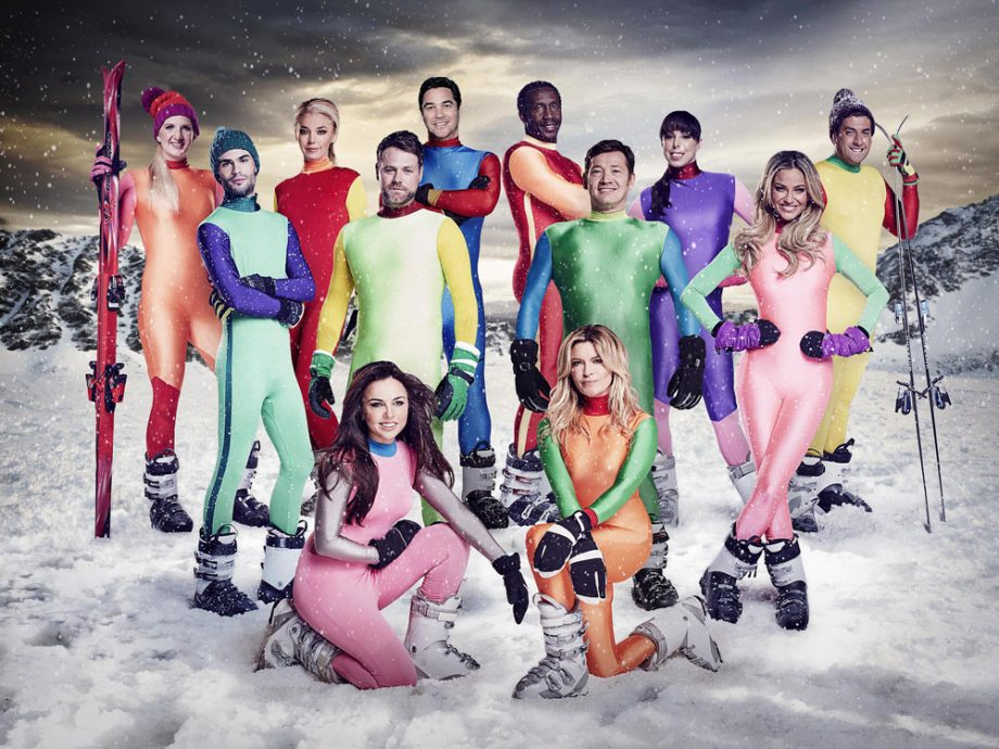 The Jump sees celebrity contestants learn Winter Olympics-inspired skills